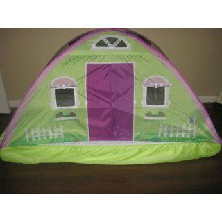 Pacific Play Tents Cottage Bed Tent   Twin, #19600 Toys & Games