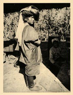 1929 Pa Oh Girl Burma Myanmar King Anawratha Bamar Mon   Original Photogravure   Prints