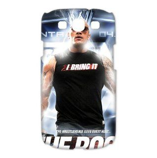 Best The Rock WWE Wrestling Samsung Galaxy i9300 3D Case Snap On Cover Faceplate Protector: Cell Phones & Accessories