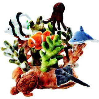 FAO Schwarz Coral Reef Habitat 7 Piece Plush: Toys & Games