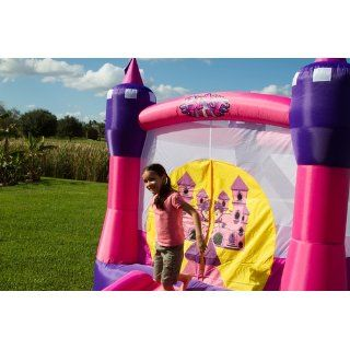 Blast Zone Princess Dreamland Inflatable Bounce Castle by Blast Zone: Toys & Games