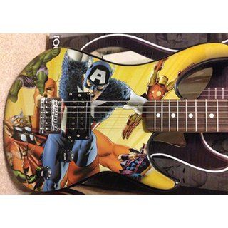 Peavey Rockmaster Marvel Avengers Electric Guitar Musical Instruments
