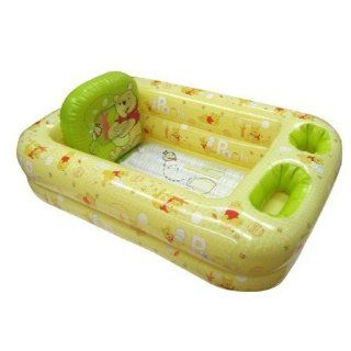 Disney Winnie the Pooh   Inflatable Safety Bathtub for Baby : Baby Bathing Seats And Tubs : Baby