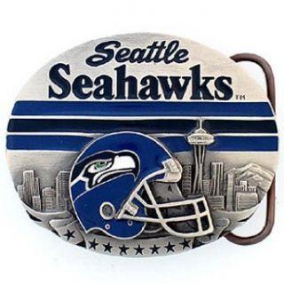 NFL Belt Buckle   Seattle Seahawks Clothing