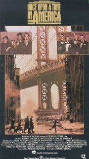 Once Upon a Time in America [VHS]: Robert De Niro, James Woods, Elizabeth McGovern, Joe Pesci, Burt Young, Tuesday Weld, Treat Williams, Danny Aiello, Richard Bright, James Hayden, William Forsythe, Darlanne Fluegel, Sergio Leone, Enrico Medioli, Ernesto G