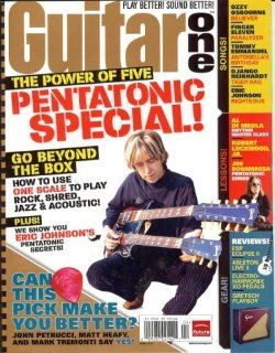 Guitar One Magazine (April 2007) (Pentatonic Special! Eric Johnson): Michael Mueller: Books