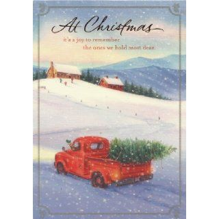 """CHRISTMAS CARDS DaySpring CHRISTIAN CONNECTIONS OLD FORD TRUCK (18 CARDS, 18 ENVELOPES) DAYSPRING, """" At Christmas it's a joy to remember teh ones we hold most dear"""" inside right """" Rembering you with love always Have a Merry Christmas&q"""