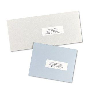 Averyamp;reg;   Self Adhesive Address Labels for Copiers, 1 x 2 13/16, White, 8250/Box   Sold As 1 Box   Simply type a master list once and copy onto multiple sheets of blank labels to create as many labels as you need.