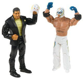 WWE Adrenaline Series 15 Eddie Guerrero & Rey Mysterio w/Ripped Mask 2 Pack Action Figures: Toys & Games