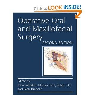 Operative Oral and Maxillofacial Surgery Second edition (Rob & Smith's Operative Surgery Series): 9780340945896: Medicine & Health Science Books @