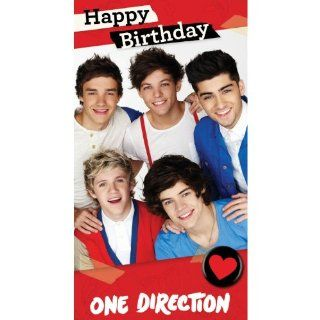"One Direction Fold Out ""Poster"" Birthday Card: Toys & Games"