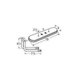 Music City Metals 15202 71112 Stainless Steel Burner Replacement for Select Gas Grill Models by Charmglow, Grill Master and Others : Sunbeam Grillmaster Parts : Patio, Lawn & Garden