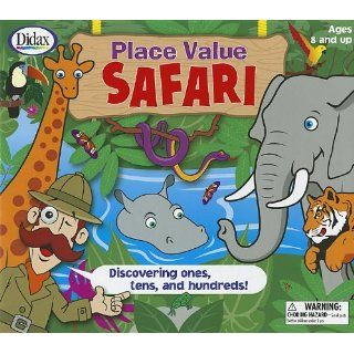 Place Value Safari: Discovering Ones, Tens, and Hundreds! [With 2 Six Sided Dice and 4 Safari Boards, 15 Jungle Cards, 4 Counters and Jungle Playing B: Industrial & Scientific