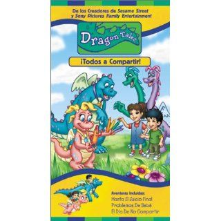 Dragon Tales   Let's All Share [VHS]: Andrea Libman, Danny McKinnon, Ty Olsson, Chantal Strand, Jason Michas, Kathleen Barr, Eli Gabay, Scott McNeil, Aida Ortega, Garry Chalk, Ellen Kennedy, Stevie Vallance, Phil Weinstein, Elana Lesser, Kimberly Smith