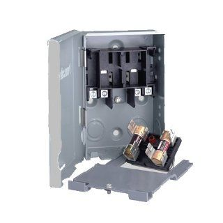 60A Fusible Pull Out Disconnect Switch with Side Opening Door: Electrical Switches: Industrial & Scientific