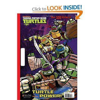 Turtle Power! (Teenage Mutant Ninja Turtles) (Giant Coloring Book): Golden Books: 9780449809921: Books