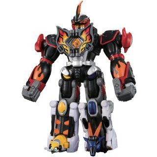 Power Rangers Jungle Fury Deluxe Battery Operated Megazords   Jungle Master Megazord: Toys & Games