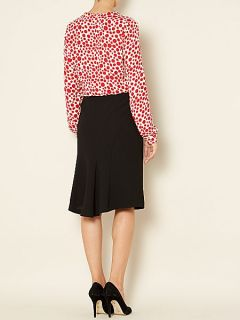 Linea Rose essential tailored skirt Black