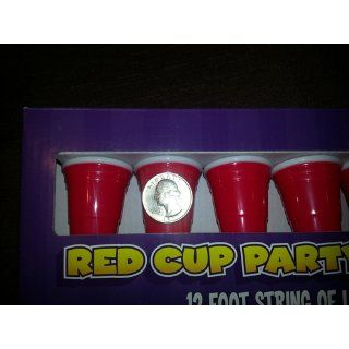 Big Mouth Toys Red Cup Party Lights: Toys & Games