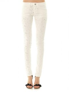 Mael embroidered low rise skinny jeans  Isabel Marant Étoile