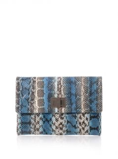 Valorie sea snake clutch  Anya Hindmarch
