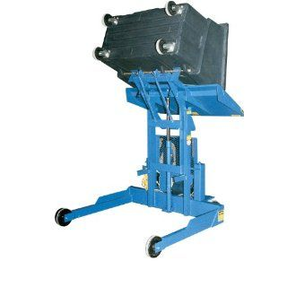 """Beacon Multipurpose Tote Dumper; Dump Height: 60""""; Level Height: 64""""; Rotated height: 90""""; Capacity (LBS): 600; Overall (WxL): 57"""" x 61""""; Model# BJMD 1000 60: Gantry Cranes: Industrial & Scientific"""