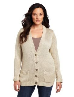 Jones New York Women's Plus Size Chainette Sweater, Gold, 3X at  Women�s Clothing store