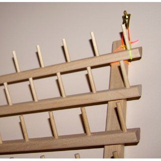 120 Spool / Cone Wood Thread Rack   By Threadart   3 Sizes Available