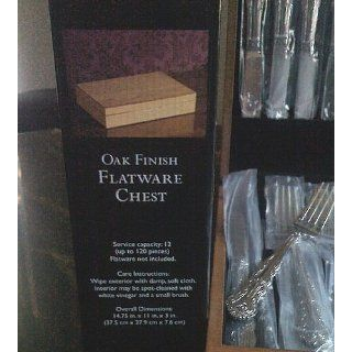 Wallace Queens 18/10 65 Piece Flatware Set: Silverware: Kitchen & Dining