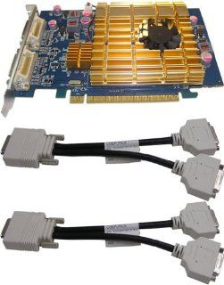 Ati Radeon 3400 Series/512MB DDR2 / Pci express/ 4 Dvi Outputs: Electronics