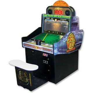 Sea Wolf Sit Down Shooting Arcade Game: Sports & Outdoors
