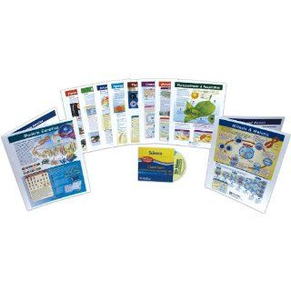 NewPath Learning 10 Piece Mastering Middle School Life Science Visual Learning Guides Set, Grade 5 9: Industrial & Scientific