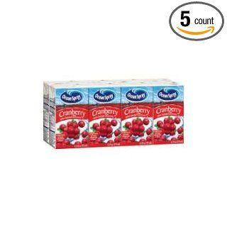 Ocean Spray Cranberry Tetra Cocktail Juice, 125 Milliliter   8 per pack    5 packs per case. Industrial & Scientific