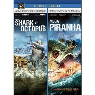 Mega Shark vs. Giant Octopus / Mega Piranha (Double Feature): Lorenzo Lamas, Deborah Gibson, Tiffany, Paul Logan, Barry Williams, Ace Hannah, Eric Forsberg: Movies & TV