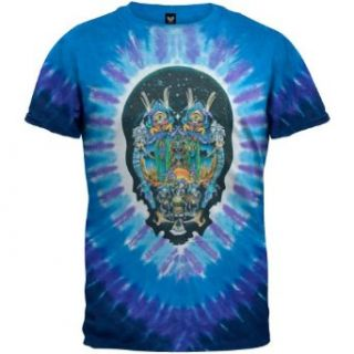 Grateful Dead   Jester Drums Tie Dye T Shirt: Music Fan T Shirts: Clothing