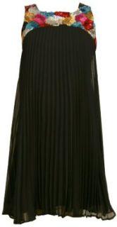 Bonnie Jean Girls 7 16 Black Party Dress,Black,7: Bonnie Jean: Clothing