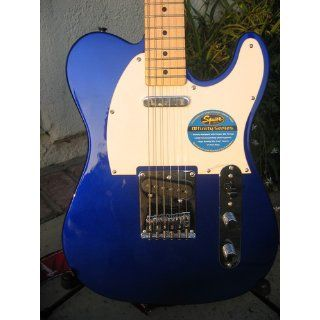 Squier by Fender Affinity Telecaster, Metallic Blue Musical Instruments