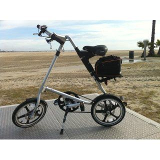 Strida LT Folding Bike, Silver  Folding Bicycles  Sports & Outdoors