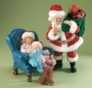 Possible Dreams Santa's PUPPY SURPRISE 2010   Collectible Figurines