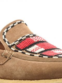 Anaco beaded suede loafers  Isabel Marant