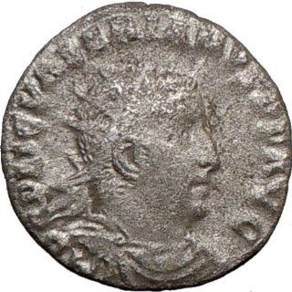 VALERIAN I 253AD Rare Authentic Ancient SILVER Roman Coin Liberalitas Wealth: Everything Else