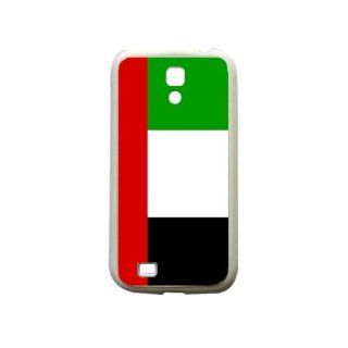 United Arab Emirates Flag Samsung Galaxy S4 White Silcone Case   Provides Great Protection: Cell Phones & Accessories