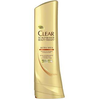 CLEAR SCALP & HAIR BEAUTY Ultra Shea Smooth & Nourish Conditioner, 12.7 Fluid Ounce  Standard Hair Conditioners  Beauty