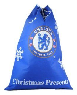 Chelsea Fc Christmas Present Sack   Football Gifts   Football Apparel