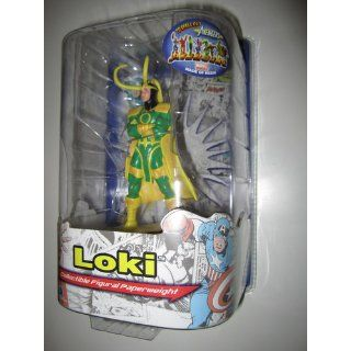 "Avengers Resin Figures   Loki on Letter Base ""R"": Toys & Games"