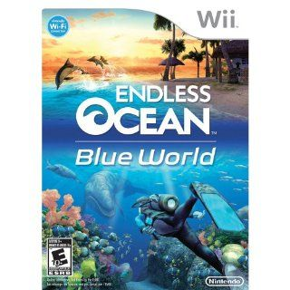 Endless Ocean Blue World   Nintendo Wii Video Games