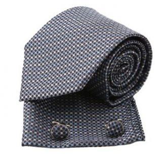 Pointe Tan/Multi Color Polka Dots Woven Silk Tie Handkerchiefs Cufflinks Set in a Gift Box at  Men�s Clothing store Neckties