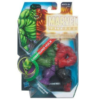 Hasbro 2011 NYCC New York ComicCon Exclusive Marvel Universe 3 3/4 Inch Action Figure Compound Hulk Toys & Games