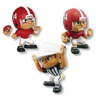Alabama Crimson Tide Lil Teammates 3 Piece Collectible Football Team Set  Sports Fan Toy Figures  Sports & Outdoors
