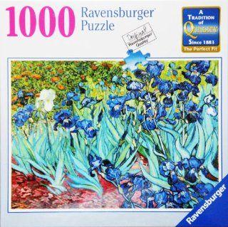 Ravensburger Puzzle VAN GOGH's IRISES 1000 Piece Jigsaw Puzzle Toys & Games
